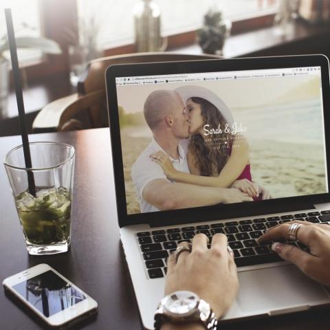 Sito Web WordPress Wedding Perfect People
