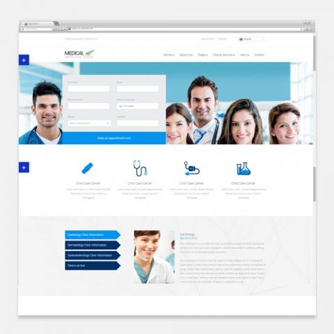 Sito Web WordPress Medicina Health