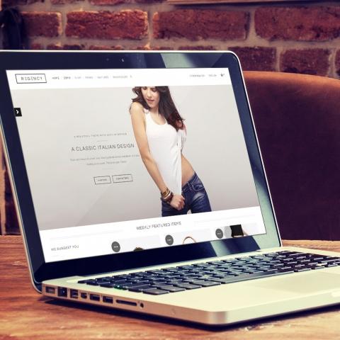 Sito Web WordPress Regency