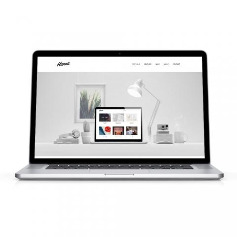 Sito Web Professionale Portfolio Hanna