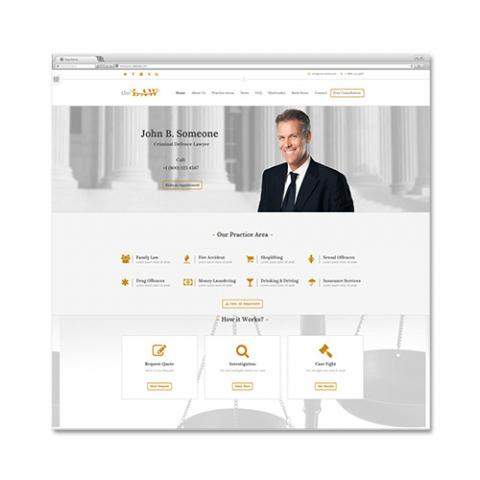 Sito Web Studio Legale The Law