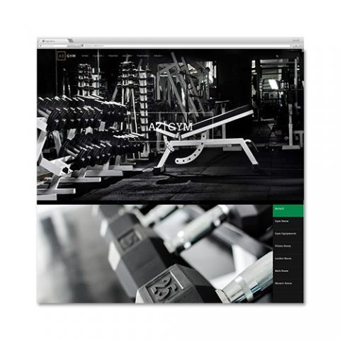 Sito web palestra sport fitness gym Az
