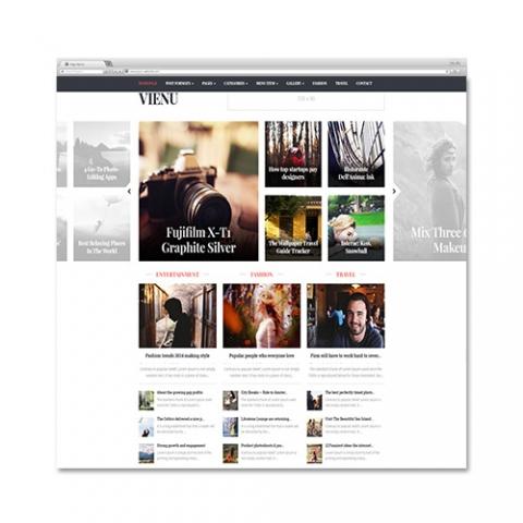 Sito Web Blog – Magazine Vienu