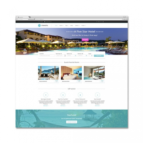 Sito Web Booking Hotel Star