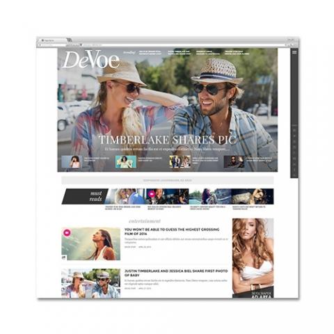 Sito Web Magazine Devoe