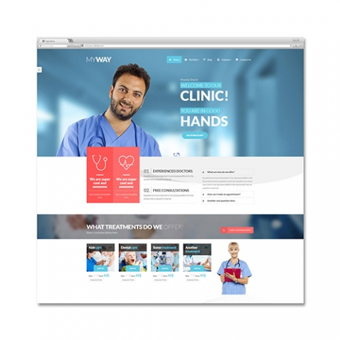 Sito web studio medico MyWay
